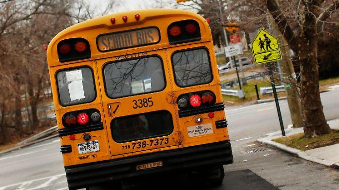Ein New Yorker Schulbus (Archivbild).