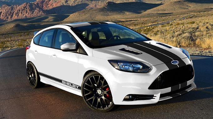 Nach einer Kraftkur des US-Tuners Shelby kommt der ohnehin potente Focus ST noch einen Zacken schärfer daher.