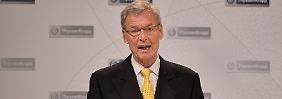 Thyssenkrupp Hauptversammlung: Cromme räumt Fehler ein