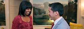 First Lady mit neuer Frisur: Michelle Obama trägt jetzt Pony