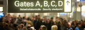 Sicherheitspersonal streikt: Airport Hamburg lahmgelegt