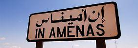 Die Anlage In Amenas im Osten Algeriens war am Mittwoch von schwer bewaffneten Islamisten besetzt worden. Insgesamt kamen 55 Menschen ums Leben.