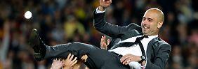 Riesenhype um Pep Guardiola: Müller, Lahm & Co sind genervt