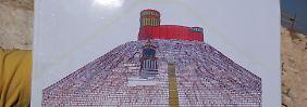 Im Israel Museum soll das mit Originalfunden rekonstruierte monumentale Mausoleum des umstrittenen biblischen Königs Herodes gezeigt werden.