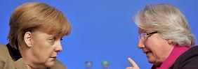 Forschungsministerin bangt um Titel: Merkel steht zu Schavan
