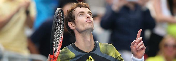 Keine großen Probleme: Andy Murray.