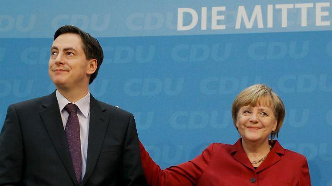 Die Kanzlerin hält weiter zu ihm: David McAllister am Tag danach in Berlin.