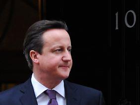 """Mit oder ohne die Briten: David Cameron hält das für eine einfache """"Drinnen-oder-Draußen-Entscheidung""""."""