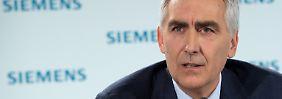 Noch keine Spur vom Aufschwung: Siemens-Chef schiebt Frust