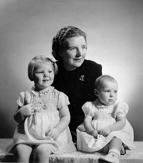 """Der """"Königinnentag"""" ist der Geburtstag ihrer Mutter Juliana (hier mit den Töchtern Beatrix und Irene) ..."""