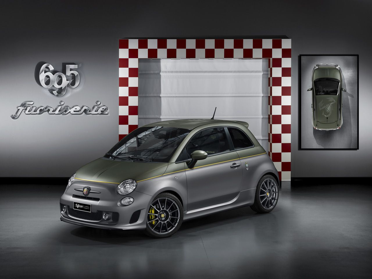 mit fuoriserie individualisiert abarth den fiat 500 n. Black Bedroom Furniture Sets. Home Design Ideas