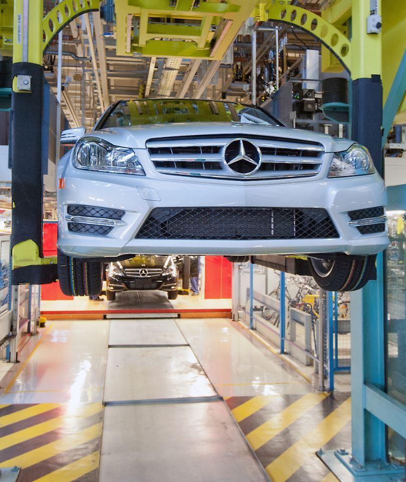 Der Druck Auf Zetsche W Chst Daimler F Llt In China