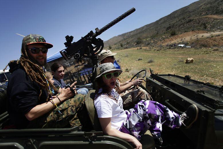 Im Nordwesten Arizonas herrscht ein Wochenende lang Krieg.