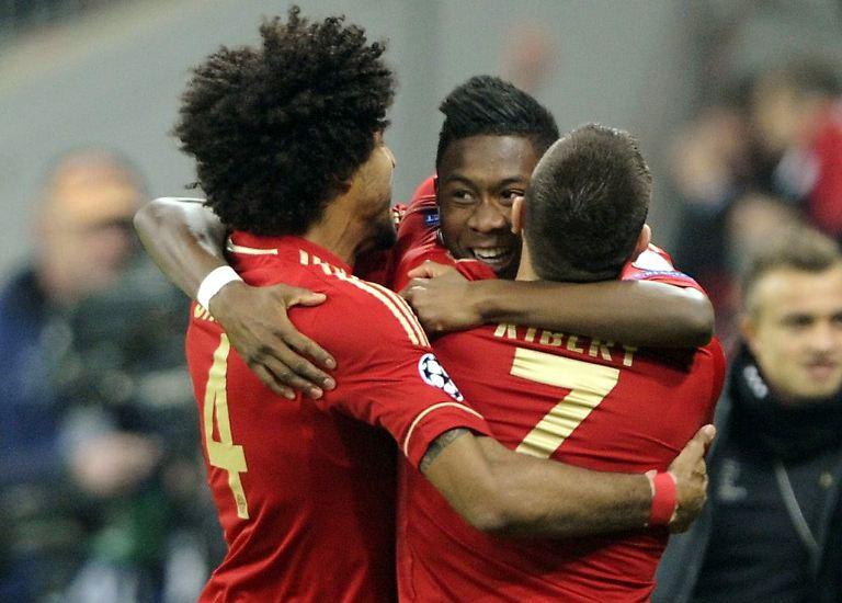 Mit seinem 150. Sieg im europäischen Meisterwettbewerb hat Bayern München das Tor zum Halbfinale der Champions League weit aufgestoßen.