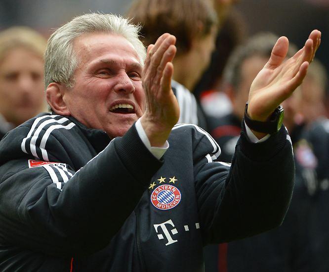 Warum dieser Herr am 28. Spieltag so aus dem Häuschen geriet, ...