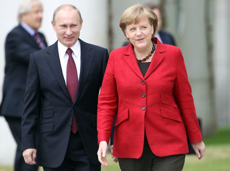 Wladimir Putin und Angela Merkel haben wieder Ärger.