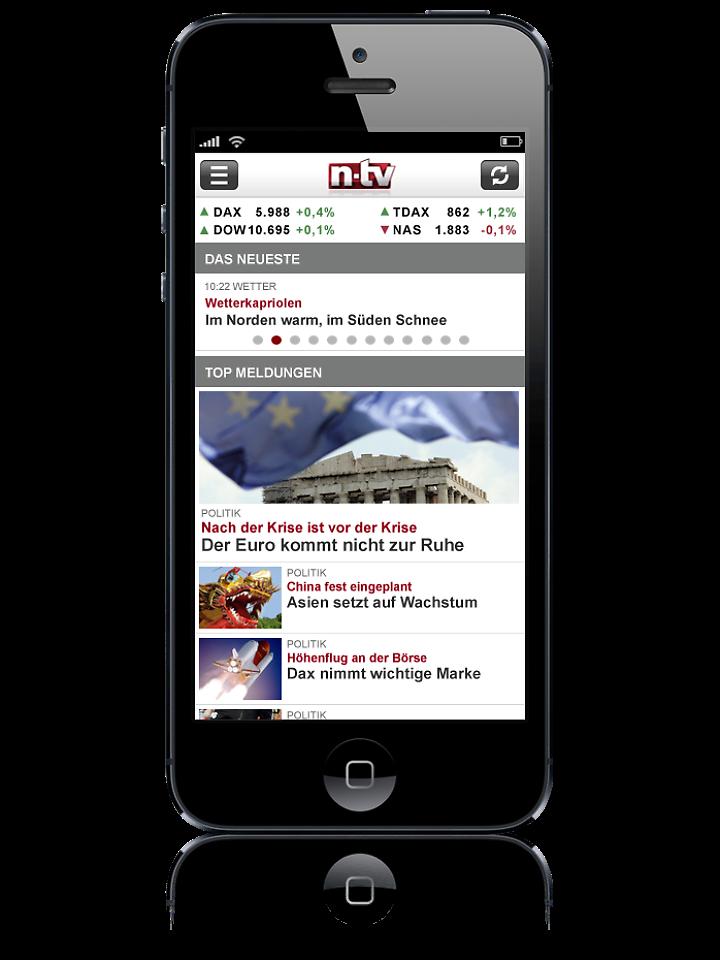 Ios die n tv apple iphone und ipad app n for Spiegel tv app