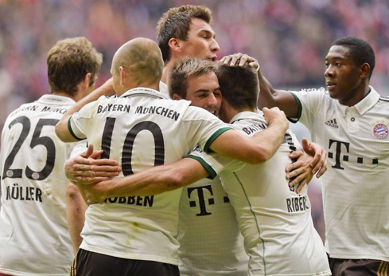 FC Bayern - Hannover 96 2:0 (0.0)