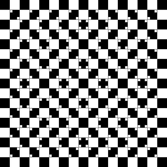 Sehen ist ein aktiver Prozess. Denn unser Gehirn nimmt visuelle Eindrücke nicht nur wahr, es interpretiert sie auch auf der Basis von bereits Bekanntem, vervollständigt sie, nimmt sie sogar vorweg. Manchmal geht das schief. Die hier dargestellten senkrechten und waagerechten Linien etwa scheinen wellenförmig zu sein - sind aber gerade. Auch ...