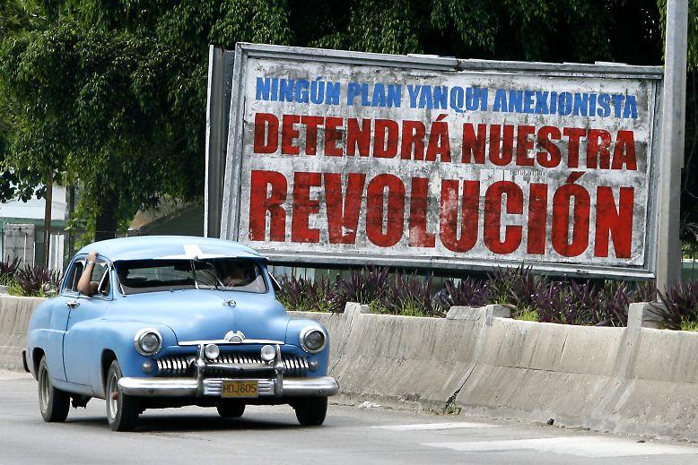Kurz nach der Revolution im Jahr 1959 verbot die kubanische Regierung den freien Import und Handel mit Neuwagen.