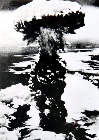 Es ist der erste Nuklearangriff in der Geschichte der Menschheit.