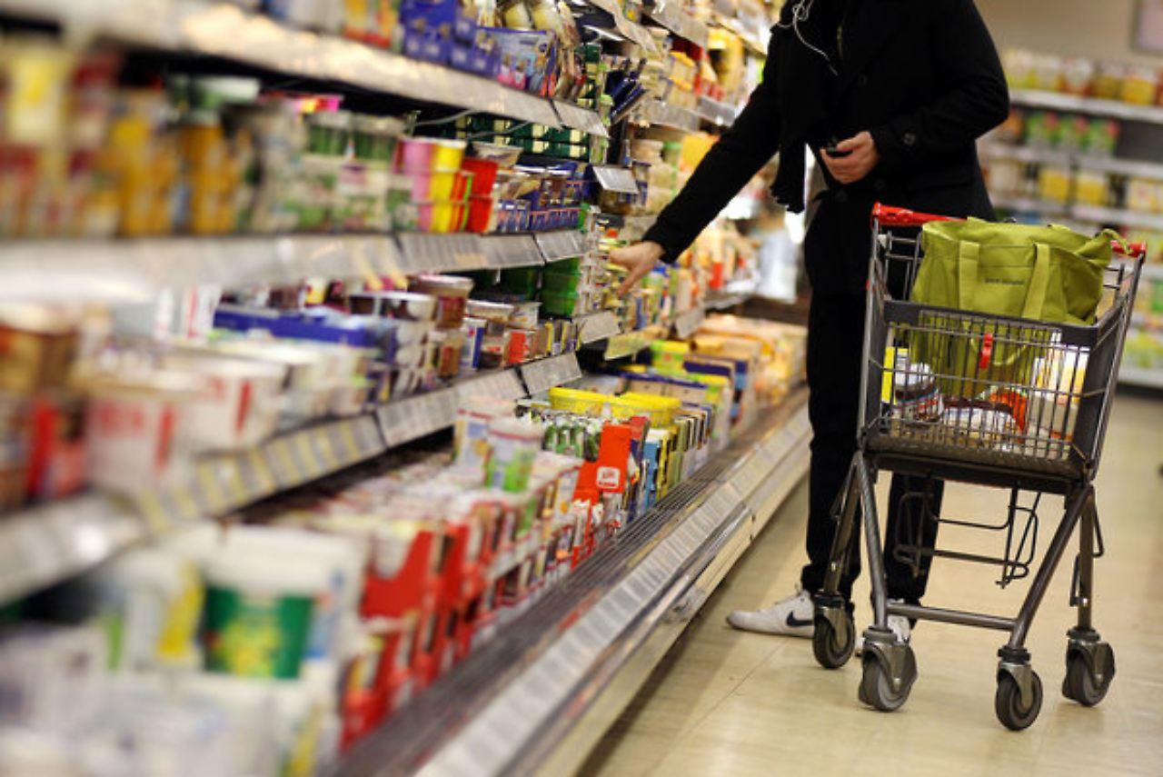 Aldi Sud Supermarkt Inside Bifi Rewe