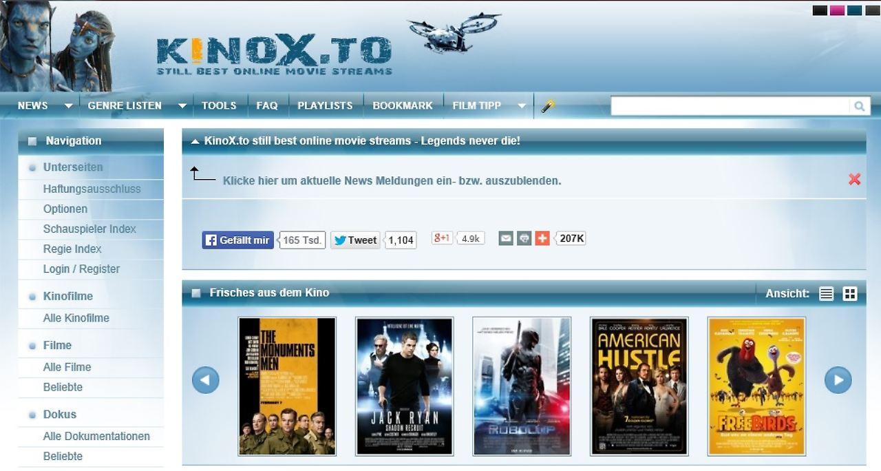 Kinox.To Website