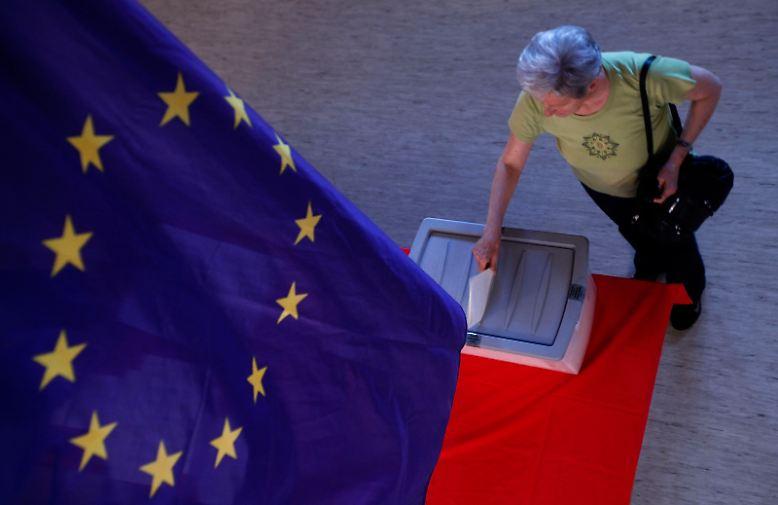 Europa in der Krise: Viele Wähler haben das Vertrauen in die europäischen Institutionen verloren.