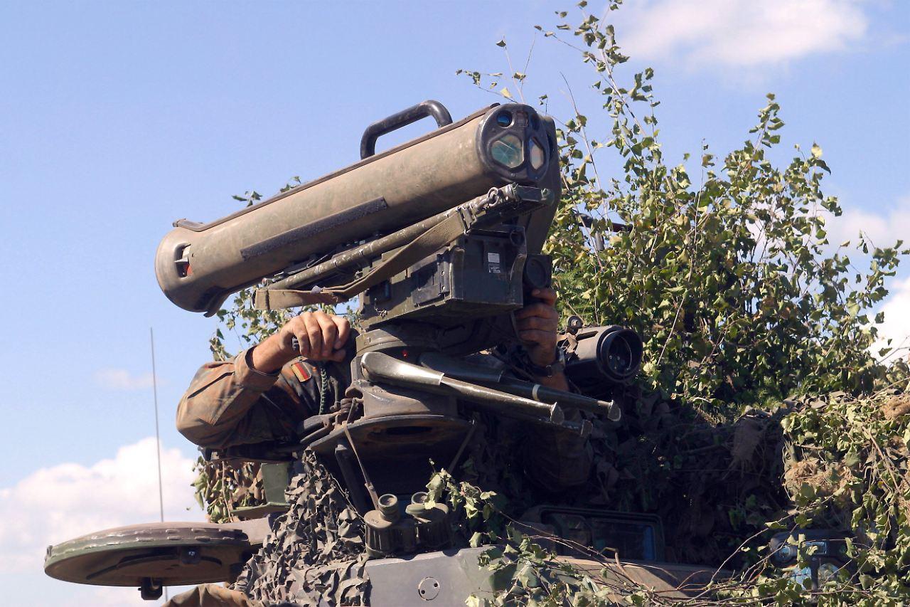 Panzerabwehrrakete Milan