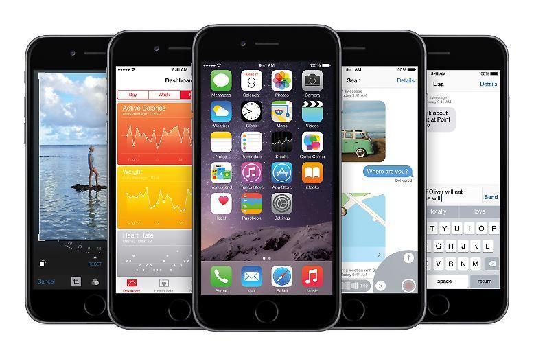 Apple hat iOS 8 zum Download bereitgestellt.