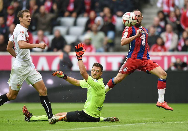 FC Bayern - VfB Stuttgart 2:0 (1:0)