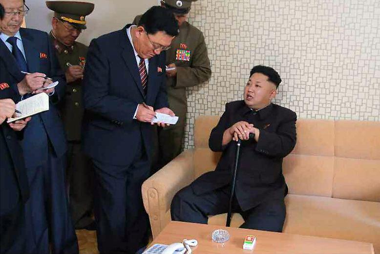 Nun also ist er wieder da: Nordkoreas Diktator Kim Jong Un.