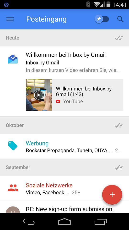 Zwei sind einer zu viel: Google verwirrt mit Gmail und Inbox - n-tv.de