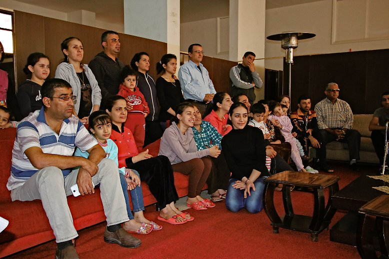 Die meisten Mossuler Christen, wie diese Flüchtlinge in Jordanien, können sich eine Rückkehr nicht mehr vorstellen. (nsc)