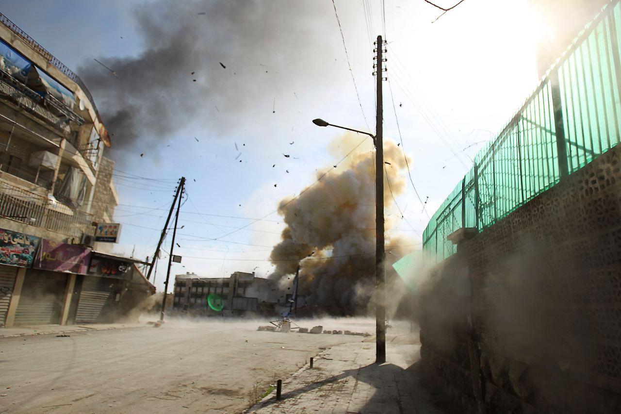 Syrien Luftangriffe