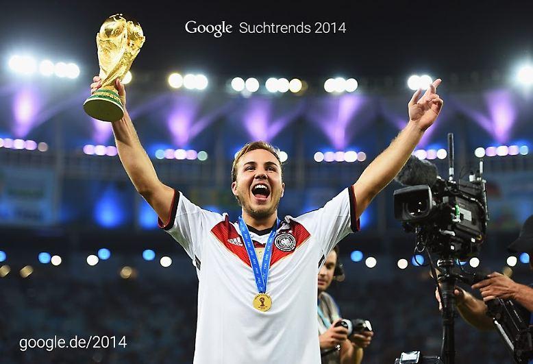 Google hat die meistgenutzten und trendigsten Suchbegriffe des Jahres veröffentlicht. Klar, dass unsere WM-Helden gut platziert sind. Aber haben sie auch den Gesamtsieg geholt? Schließlich gab es starke Konkurrenz: