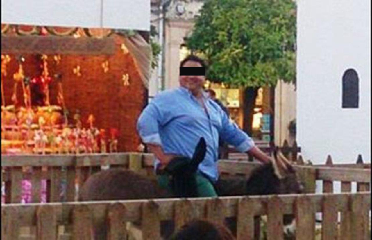 Platero starb nach unerlaubtem Ritt: 150-Kilo-Mann quält