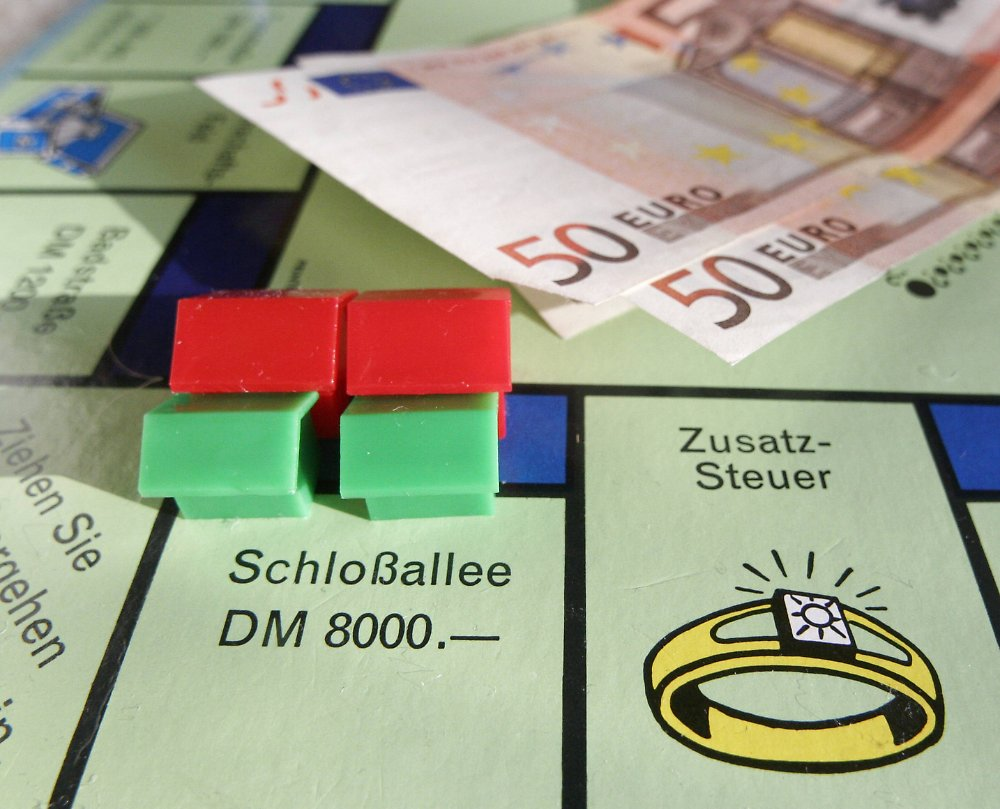 Schlossallee Monopoly