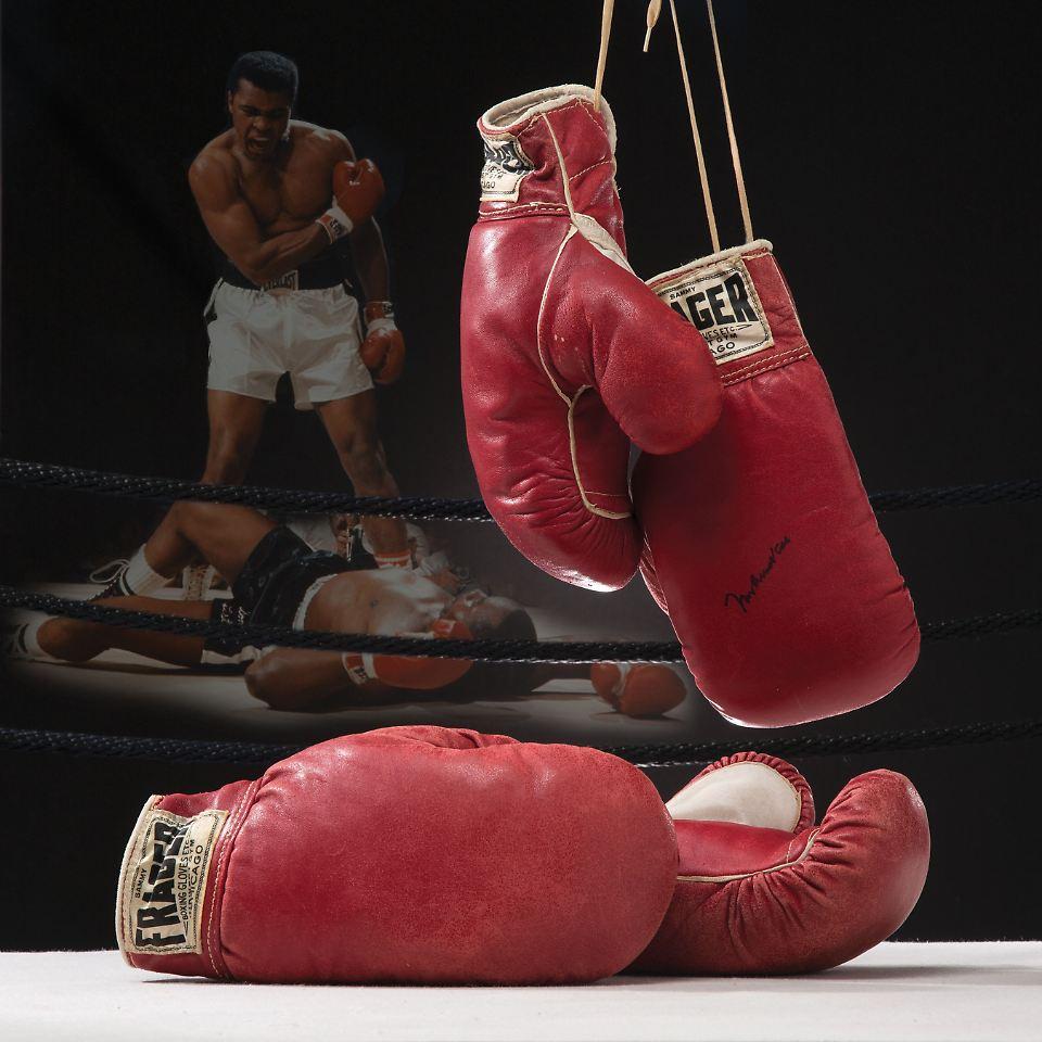muhammad ali boxhandschuhe