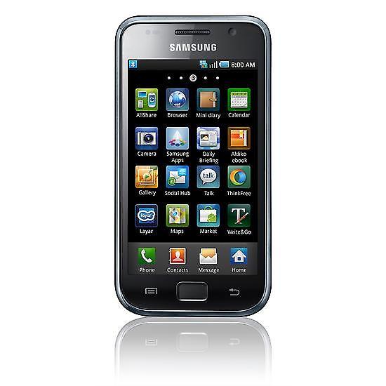 Das ist das Samsung Galaxy S GT-i9000, das im Juni 2010 auf den Markt kam.