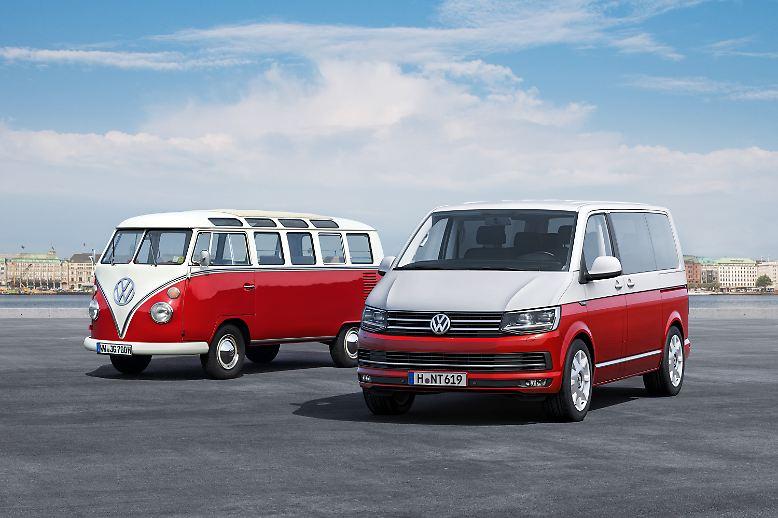 65 Jahre nach dem ersten Modell hat der Volkswagen-Konzern nun die sechste Generation seines Transporters T6 vorgestellt.