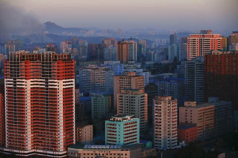 In Pjöngjang, steht am Samstag ein noch nie zuvor da gewesenes Großereignis an ...