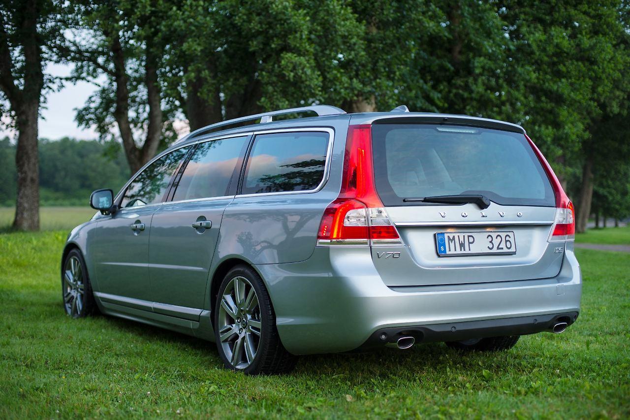 Schwede mit Kante: Volvo V70 - gebraucht kein ...