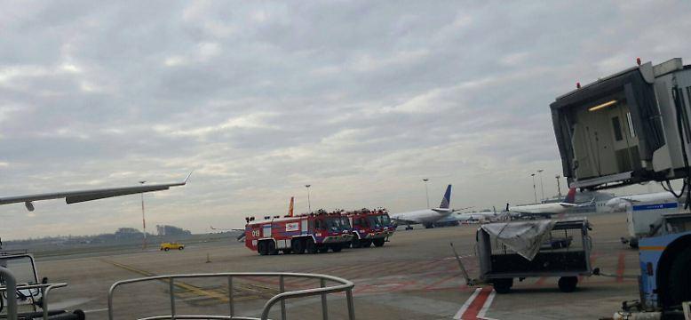Es herrscht Ausnahmezustand am Flughafen Zaventem in Brüssel.
