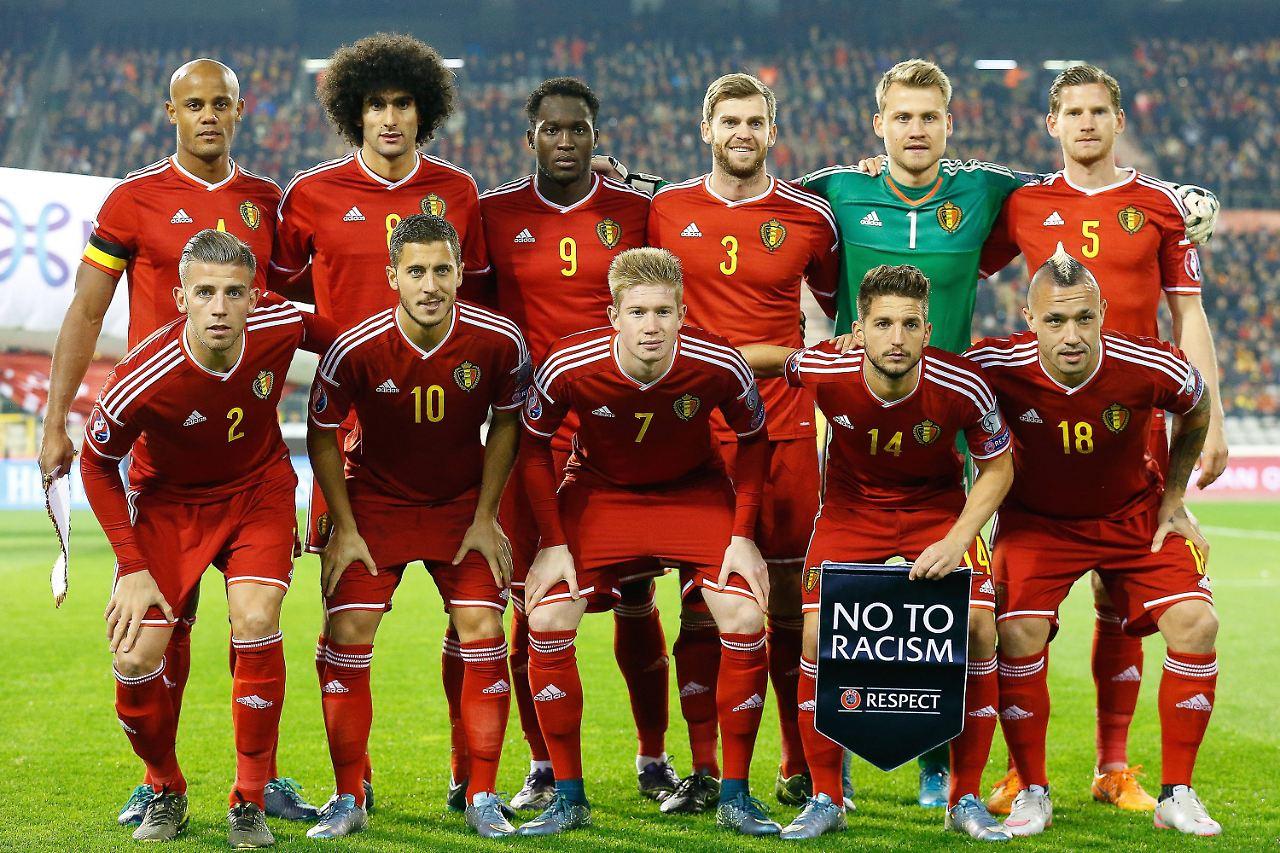 Belgien Nationalmannschaft Spieler