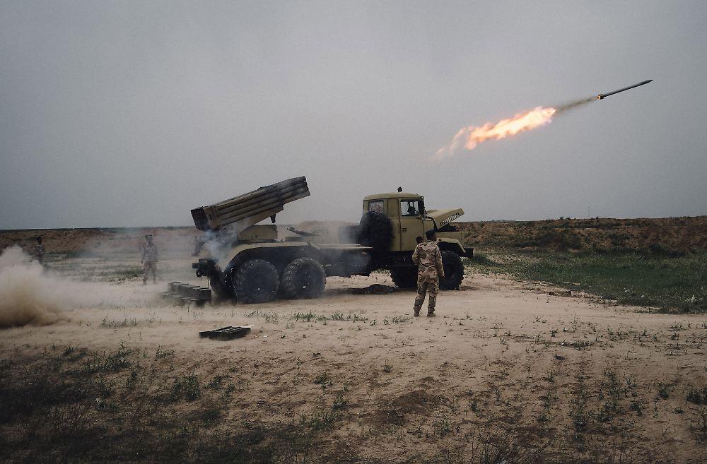 Frühjahrsoffensive auf Mossul: Pentagon will mehr US-Truppen im <b>Irak</b>