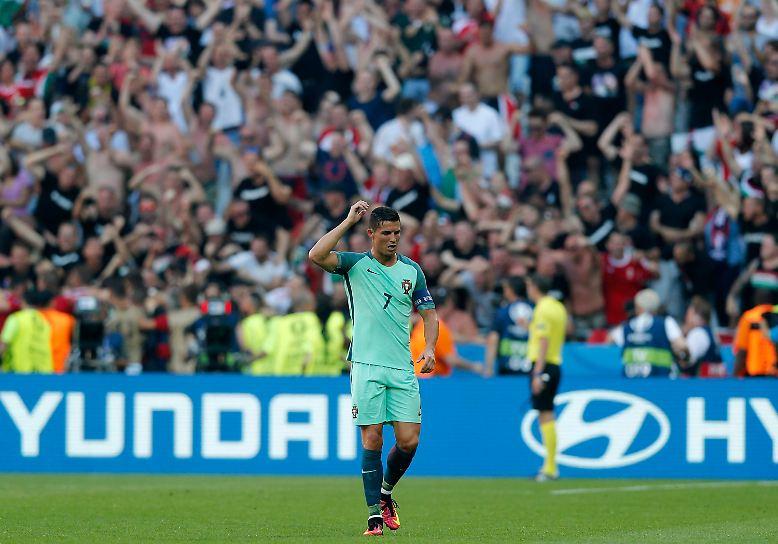 Erst lief es gar nicht bei Portugals Superstar Cristiano Ronaldo.