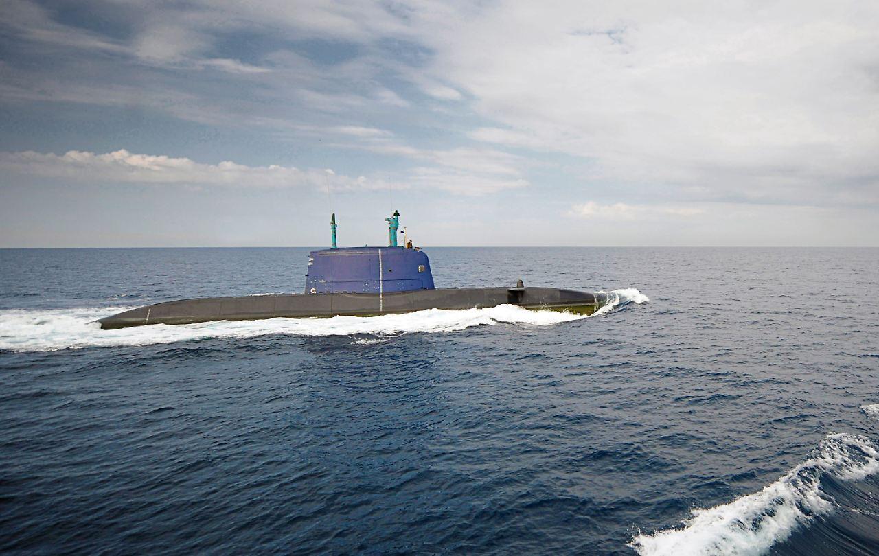 U Boot Porpoise Klasse Neue Waffenhilfe aus D...