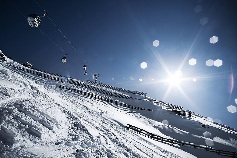 Skifahren und Après-Ski - da gibt es in Europa vor allem einen Wintersportort: ...