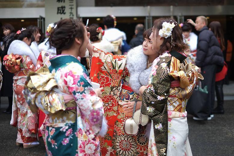 Volljährig ist man in Japan mit 20.